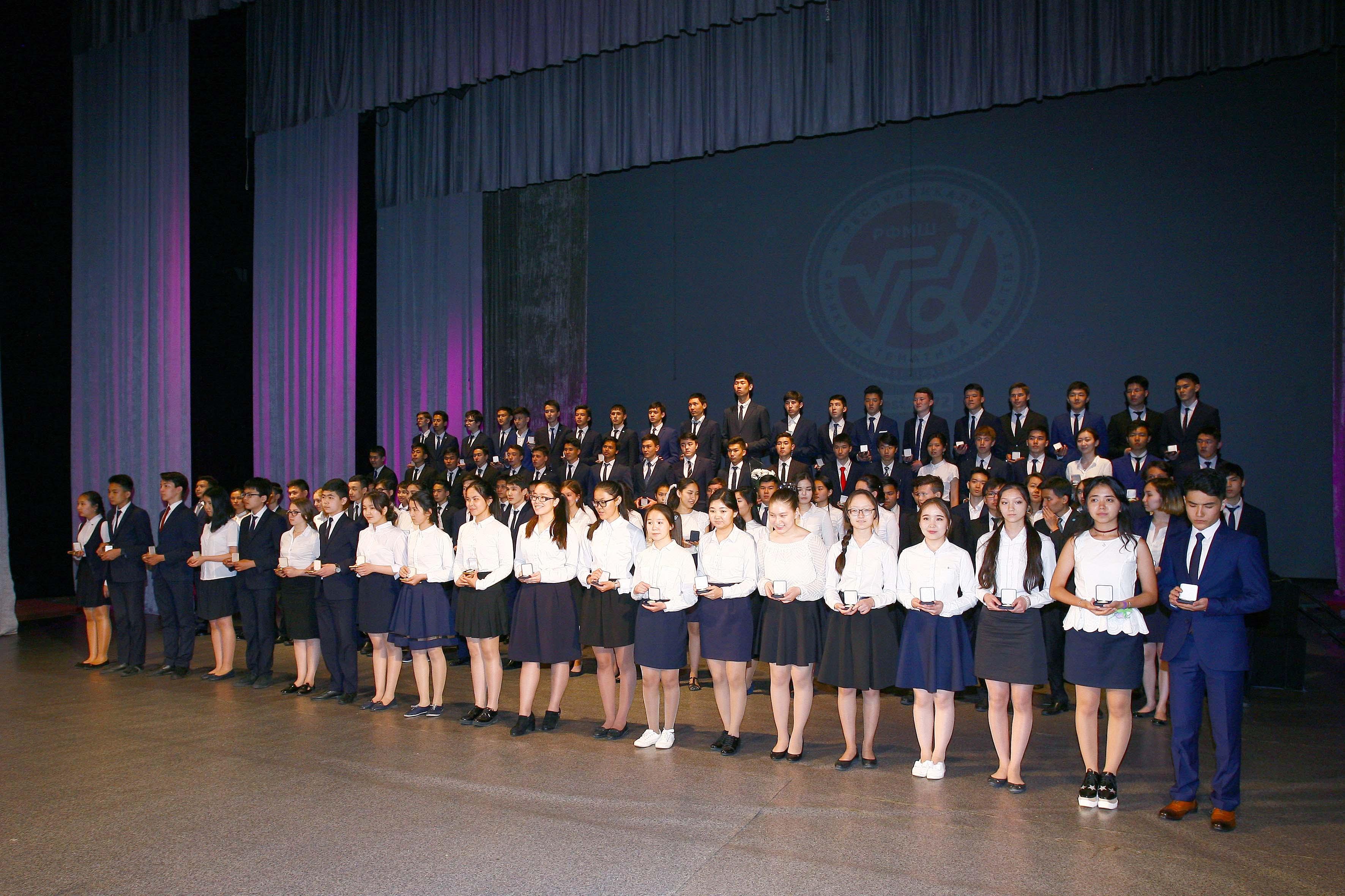 Торжественная церемония награждения «Мектеп мактанышы»
