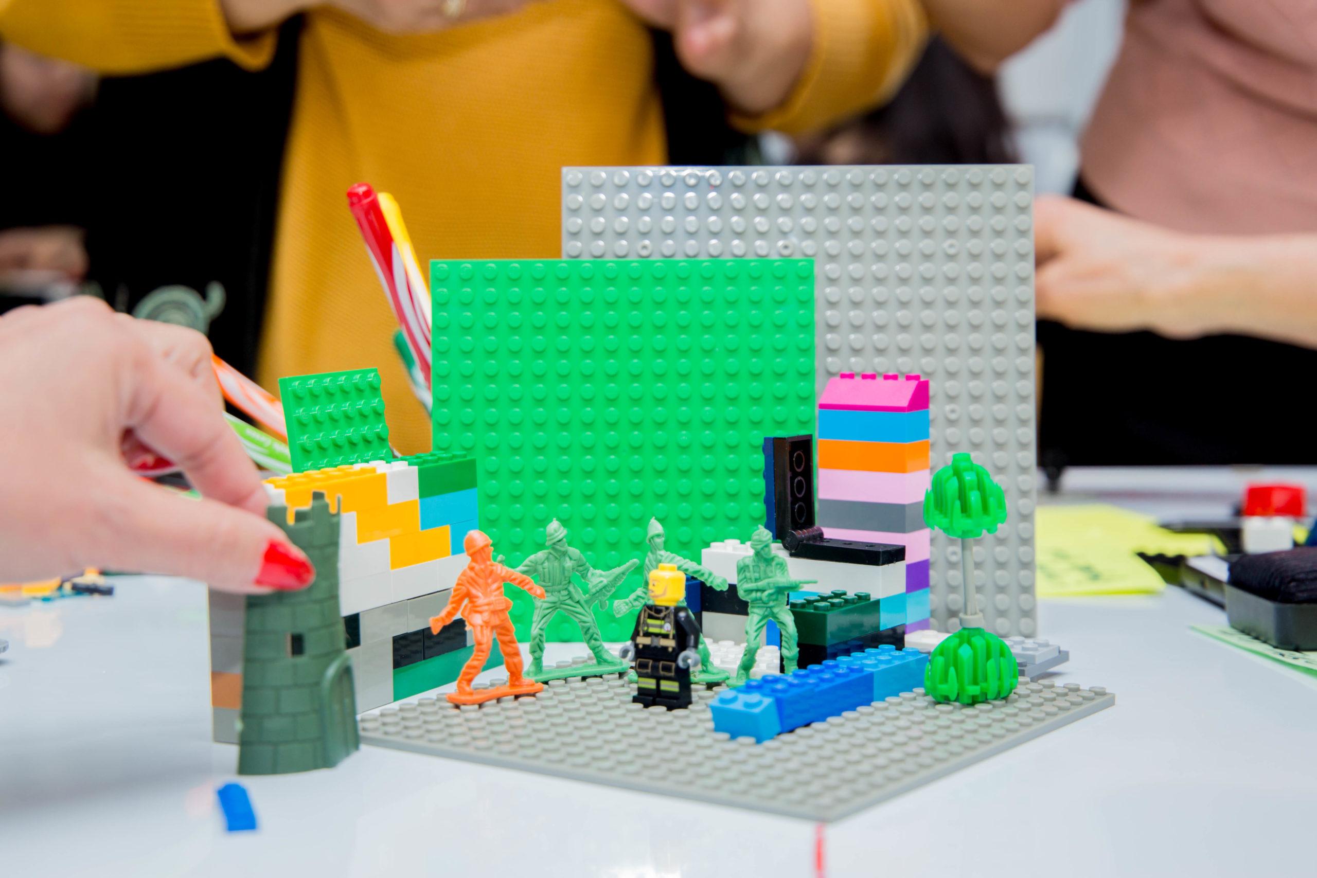 «SCRUM Lego Almaty» тренингі